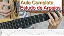 Arpeggio Etude Guitar Lesson Portuguese Marcos Kaiser