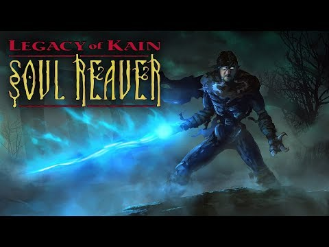 [18] Шон играет в Legacy of Kain: Soul Reaver (Dreamcast, 2000)