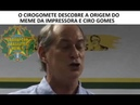 Cirogomete descobre que a proposta economica de Ciro Gomes é Imprimir dinheiro