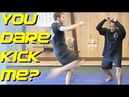 SSBD Silat Countering the Kick with Maul Mornie