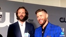 Should Supernatural Get a Happy Ending?Jensen Ackles Jared Padalecki at the CW upfronts in NYC