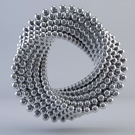"""Robert Yakovlev on Instagram: """"Famous mograph spheres vfx rendered with chrome metallic material. Original loop is just 2 seconds duration. Royalty..."""