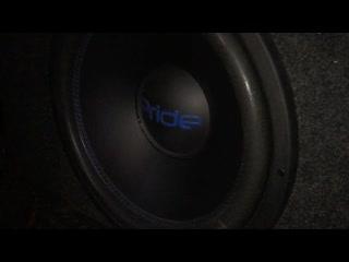 LADA Granta (установка усилителя и сбавуфера #PRIDE + ТЕСТ