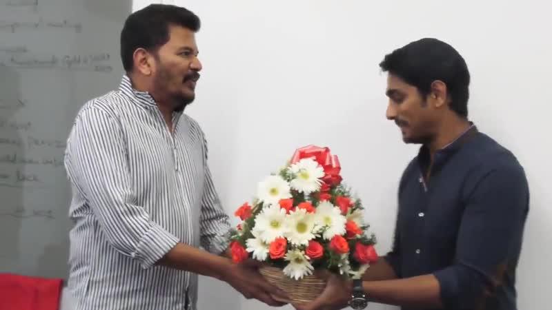 Director Shankar Unveiling the First Look of SivappuManjalPachai