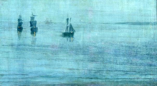 «Ноктюрн: Le Solent», Джеймс Уистлер
