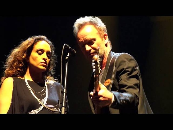 Noa and Sting - Fields of Gold - Olympia