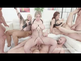 Syren de mer, dee williams, barbie sins outnumbered both way pee edition 2, group sex orgy anal porno