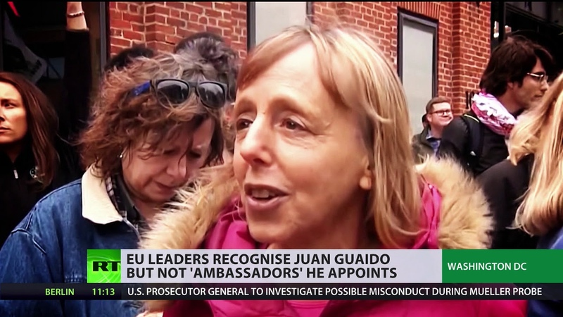 Guaido is recognized by Europe, but the 'ambassadors' he appoints are not