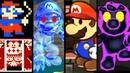 Super Mario Evolution of EVIL MARIO 1982-2014 (Arcade to Wii U)