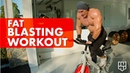 FAT BLASTING WORKOUT FIRST LIFT IN THE GARAGE GYM