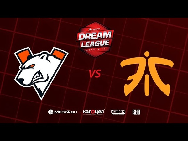 Virtus.pro vs Fnatic - Game 1, Loser Bracket - DreamLeague Season 11