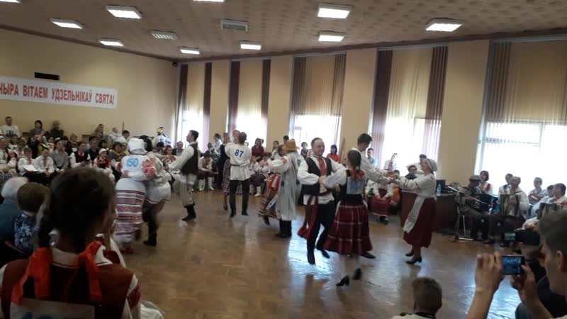 Субота Пяты юбілейны адкрыты конкурс выканаўцаў беларускіх народных танцаў Ветразь 2019