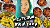 ONE HOUR VEGAN MEAL PREP HIGH PROTEIN Vegan Mac &amp Cheese, Bean &amp Quinoa Chili