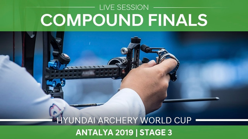 Live Session: Compound mixed team and individual finals |Antalya 2019 World Cup S3