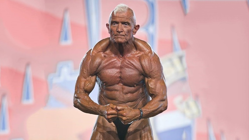 6 Old Bodybuilders (Over 70 Years Old) in Great Shape