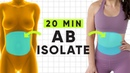 20 Minute Total Abs Core Oblique Isolate Workout At home no equipment ab building exercises!