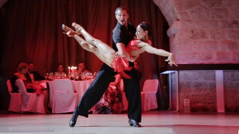 Denis Tagintsev Ekaterina Krysanova 2018 Adriatic Pearl Dubrovnik Showcase Feeling Good