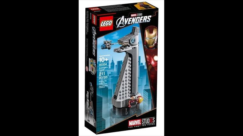Собираем эксклюзивный набор Lego Super Heroes 40334 Avengers Tower