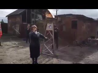 Жители Советска празднуют подключение к газу их жилых домов
