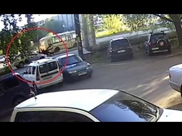 ДТП на Нариманова Сбили двух человек