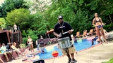 BYOS Lean On Grimsley High School Drumline - Blue Steel Xymox Percussion