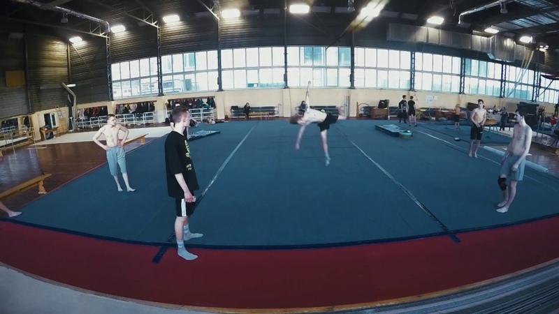 Прогресс восстановление в акробатике Progress recovery in acrobatics