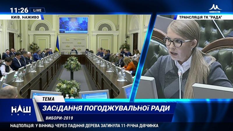 Тимошенко Для України негайно потрібно, щоб Порошенко навіть не чекаючи виборів пішов геть. НАШ