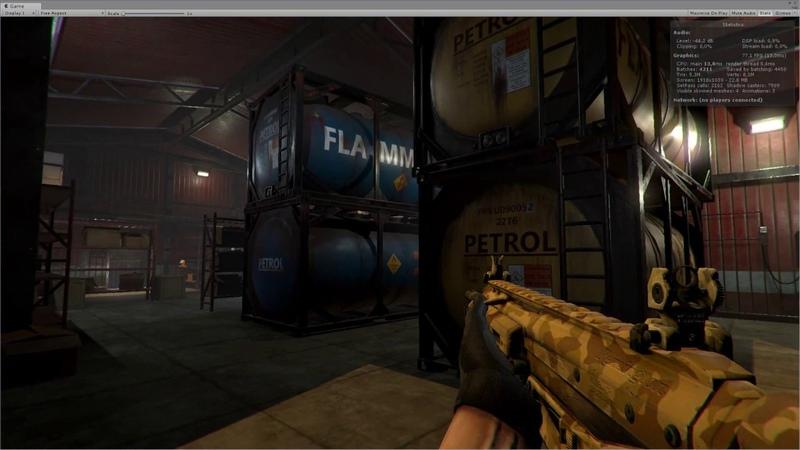 PBR RPG FPS Game Assets v3 industrial