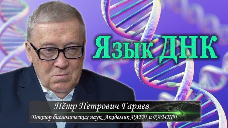 Язык ДНК Пётр Гаряев и Джули По