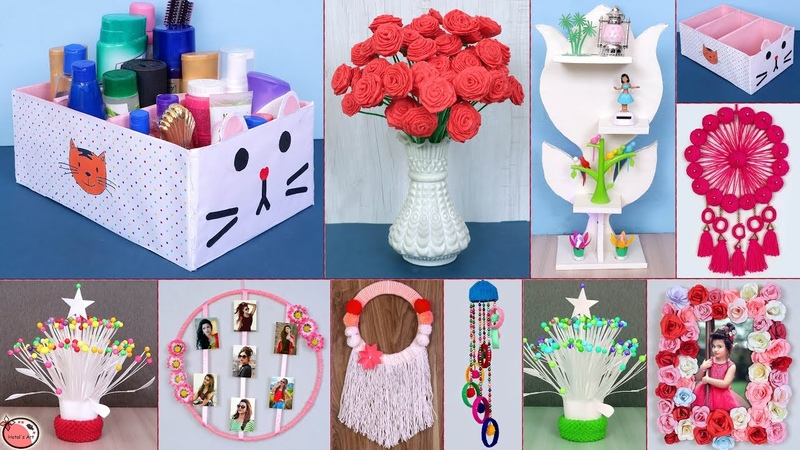 10 Easy Best Out of Waste Idea DIY Room Decor DIY Projects