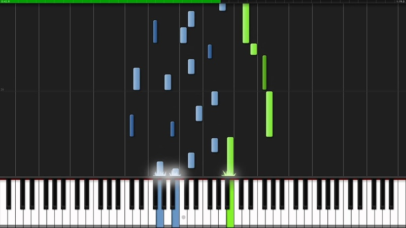 A Tale of Distant Lands - Robert Schumann [Piano Tutorial] (Synthesia)