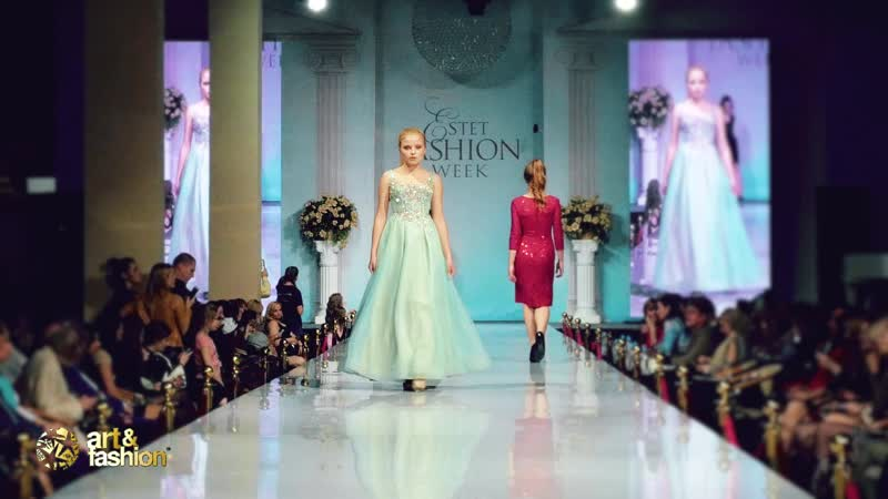Estet Fashion Week 2019 To be bride Art Fashion Company
