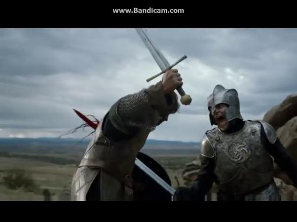 Игра престолов.Рыцарь,стиль которого даже круче чем у Красного Змея.