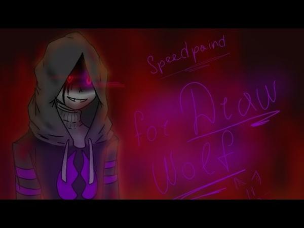 Speedpaint 1[ Scoundrel Sans ] fan-art for: Draw Wolf