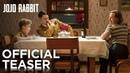 JOJO RABBIT Official Teaser HD FOX Searchlight