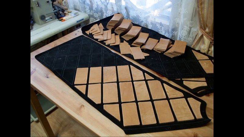 House Stark Leather Armor (replica) by Svetliy Sudar Leather Arts Workshop (WIP)
