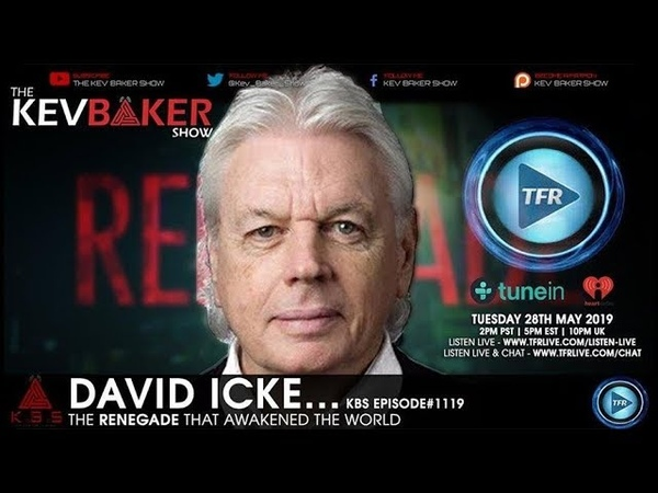 With Truth This Explosive It's No Wonder Entire Countries Ban Him David Icke Talks To Kev Baker