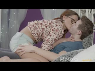 Horny young hot redhead teacher fucked by younger student after the class . cute barbara bieber roughsex with peter in bed