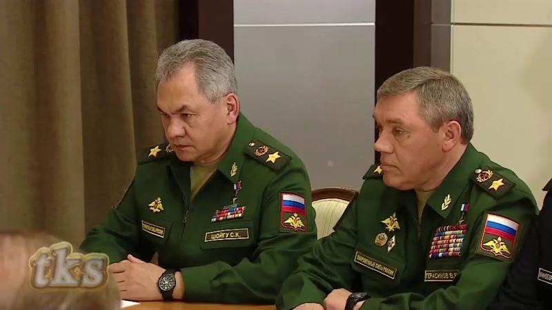 17 05 2019 Putin Chairs Final Sochi's Military Meeting