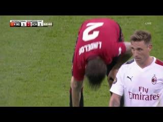 Manchester United - Milan 03.08.19 amistoso