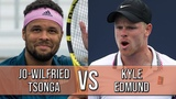 Jo-Wilfried Tsonga vs Kyle Edmund - Marrakech 2019 R2 (Highlights HD)