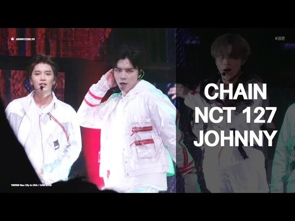190509 CHAIN NCT 127 JOHNNY focus 4k fancam 쟈니 직캠 @ Neo City in USA San Jose