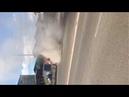 В Улан-Удэ горел микроавтобус
