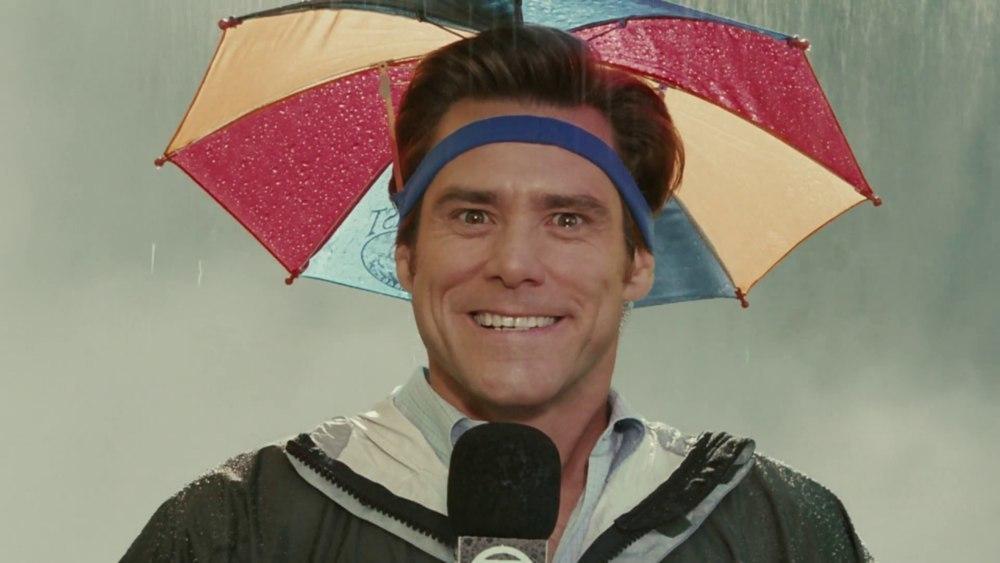 Зонтик Брюса Всемогущего -