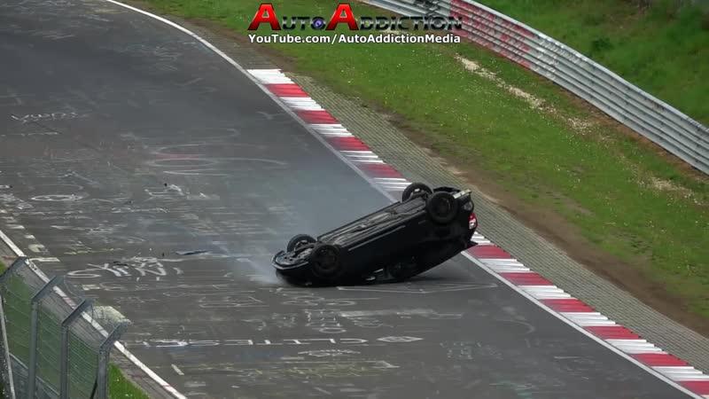 TOP 15 BIGGEST CRASHES NÜRBURGRING - Nordschleife Top 15 Crash Compilation 2012 - 2018
