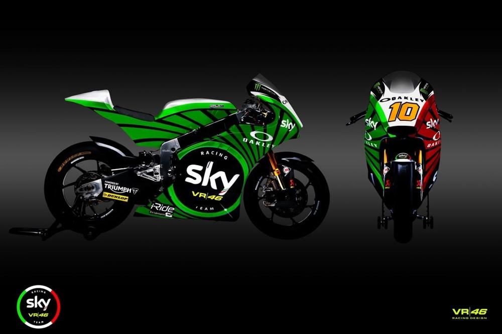 Расцветки команд SKY Racing Team VR46 для Гран При Муджелло