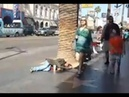 Homeless On Hollywood Blvd Los Angeles, California