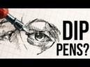 DIP PENS 101 Why do artists still use them
