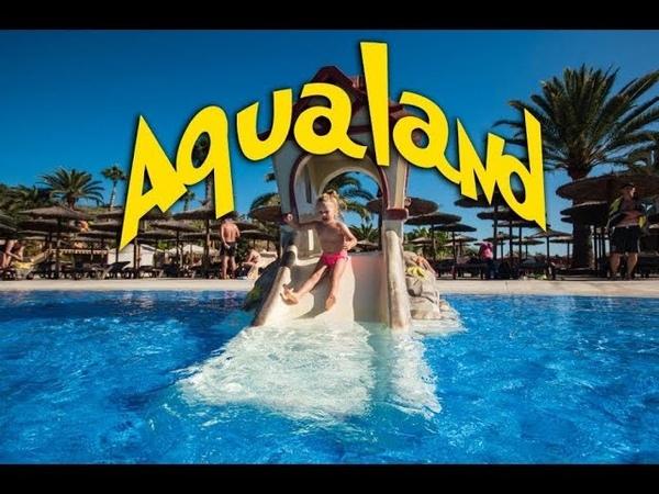Аквапарк Aqualand Канарские острова