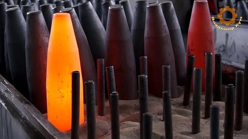 Как делают снаряды и стволы для пушек